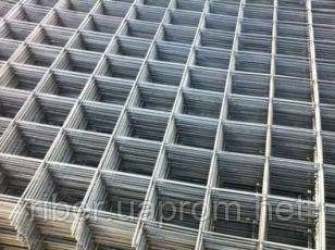 Сварная кладочная сетка 50х50х4мм эконом карта 0,5х2м