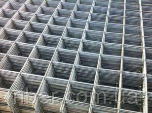 Сварная кладочная сетка 50х50х4мм эконом карта 0,5х2м, фото 2