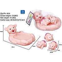 Пищалка OSB9908 свинка и поросята,в сетке 13*22*10см