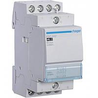Контактор ESC442 40А, 2НО+2НЗ, 230В модульный Hager