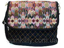 Жіноча джинсова сумочка Фіорі