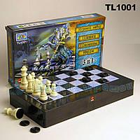 "Шахматы 8899  ""3в1"", шашки, нарды, в коробке 32*18см"