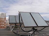 Спорткомплекс по ул. Бакулина,г.Харьков, установлены 6 плоских солнечных коллекторов,монтаж 2010 г., фото 1