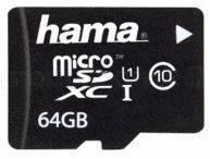 Карта памяти HAMA MicroSD 64GB