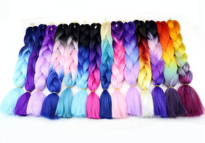 Канекалон омбре Jumbo Braid Hair #30, фото 3
