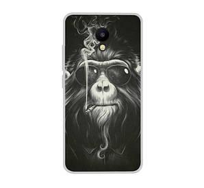 Силиконовый чехол для Meizu M5C с рисунком обезьяна