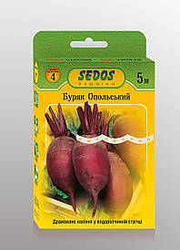 Семена на ленте свекла Опольская