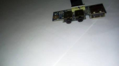 LS-7322P DC0 ASUS K53T K53TA- аудио-вход, выход, + 1 USB, фото 2