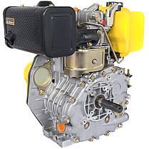 Двигун дизельний Кентавр ДВО-300Д (6 к. с., шпонка, вал 25мм), фото 2