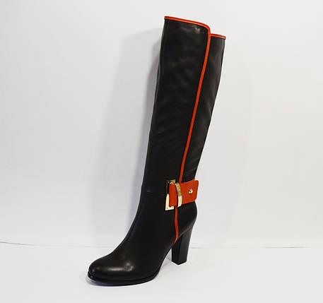 Демисезонные кожаные сапоги Melanee, фото 2