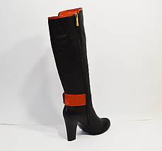 Демисезонные кожаные сапоги Melanee, фото 3