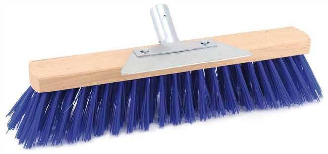 Жорстка щітка з металевим скребком 40 см, ворс-75 мм (Elastoon broom), фото 2