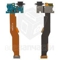 Шлейф для мобильного телефона Xiaomi Mi5, коннектора зарядки, с компонентами
