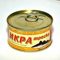 Икра Трески пробойная, соленая производитель Авистрон 120 грамм