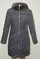 Зимняя женская куртка - пальто Норка  черное от производителя