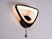 Настенный светодиодный светильник(бра) 8118/1 Black 10w