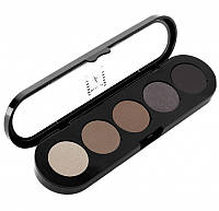 Палетка теней Atelier Palette 5 цветов (smokey brown)