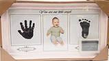 Фоторамка колаж Baby 1 фото(10*15) з відбитками ручки і ніжки біла/рожева/синя (AM8732), фото 2