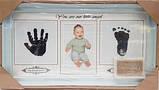 Фоторамка колаж Baby 1 фото(10*15) з відбитками ручки і ніжки біла/рожева/синя (AM8732), фото 3