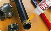 """Loctite 577 Анаэробный, средней прочности для резьб до 3"""" Герметик резьбовых и трубных соединений"""