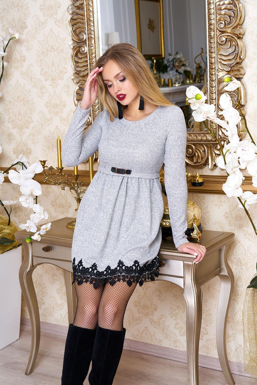 Платье из ангоры Лора р 44,46,48