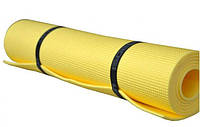 Коврик Yoga Master (жёлтый) 1800х600х5мм, пл.66 кг/куб.м
