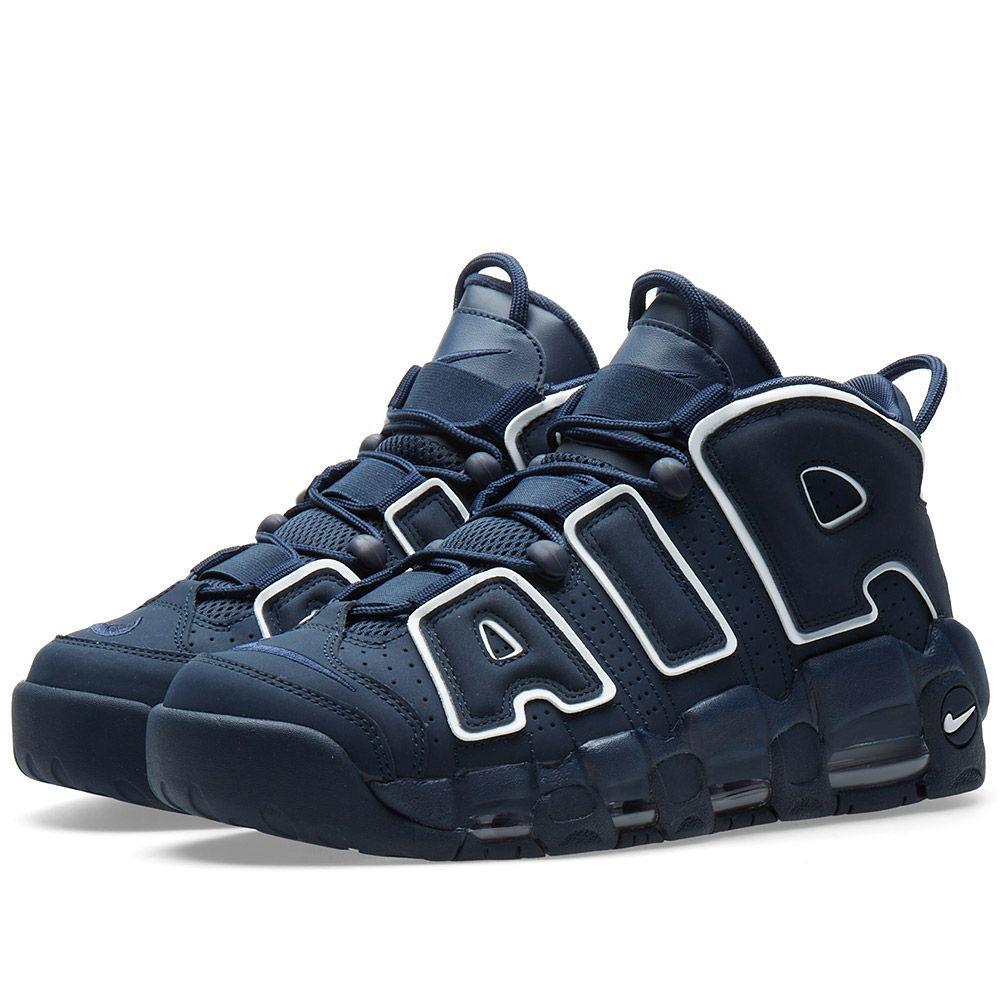 7493d0f51c44b Оригинальные кроссовки Nike Air More Uptempo 96 Obsidian, White ...