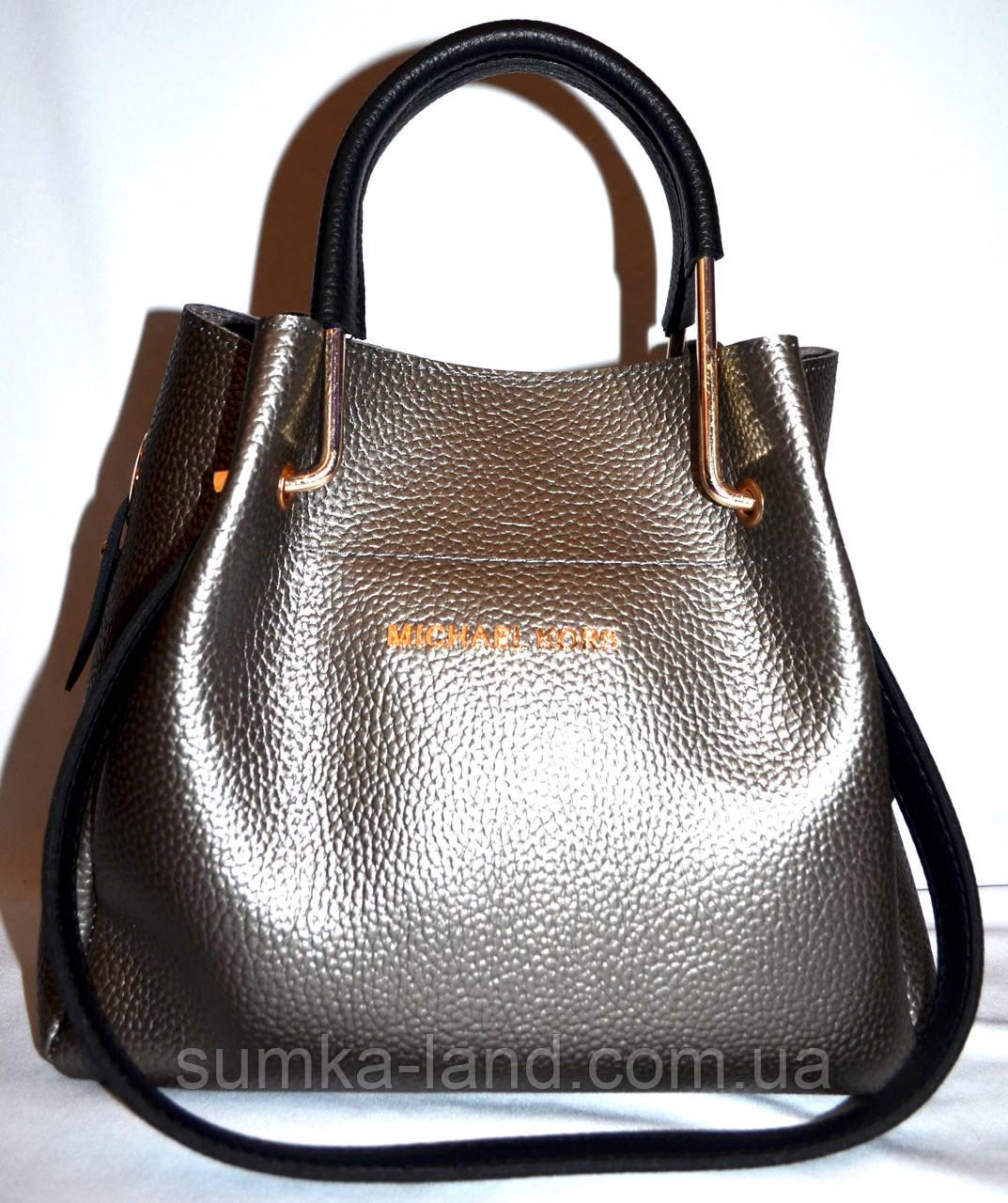 dd238ffd6274 Женская элитная сумка серебро с черными ручками 28*26: продажа, цена ...