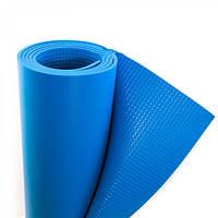 Коврик Yoga Master (синий) 1800х600х5мм, пл.66 кг/куб.м, вес 270г