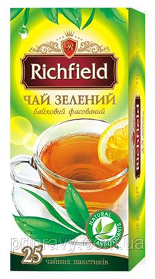 Чай  зеленый  байховый фасованный ТМ Richfield, 40г