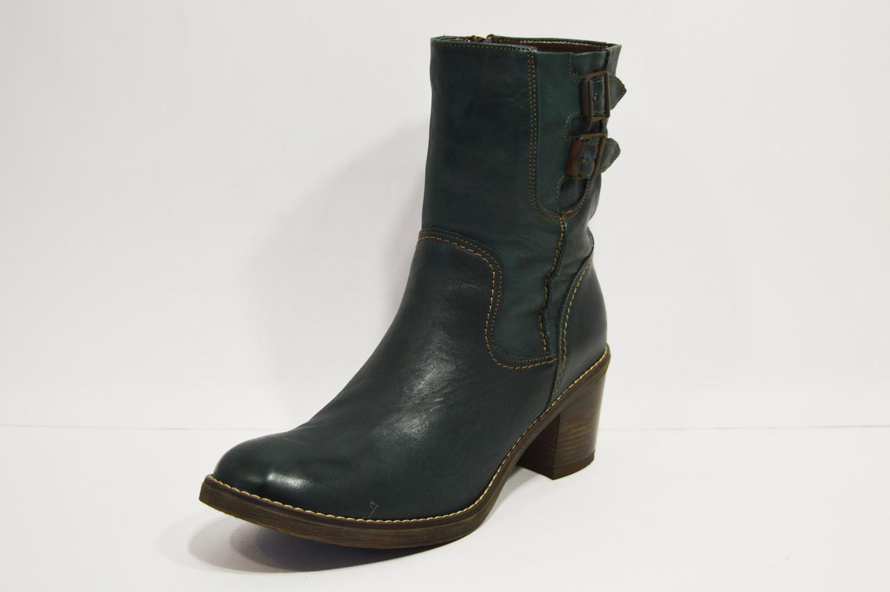 Зеленые женские ботинки Venetti 621