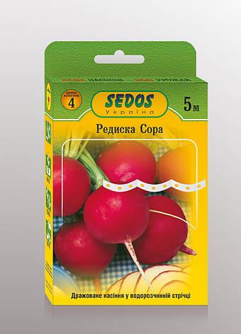 Семена на ленте редис Сора, фото 2