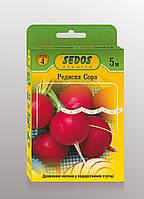 Семена на ленте редис Сора