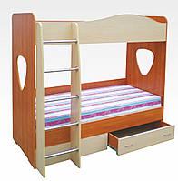 """Двухъярусная детская кровать """"Симба"""""""