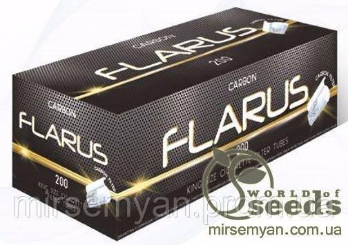 Сигаретные гильзы с фильтром для набивки табаком/Flarus/ 200шт - ДП «Мир Семян» в Тернопольской области