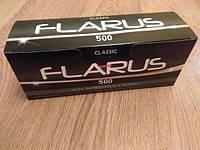 Сигаретные гильзы с фильтром для набивки табаком/Flarus/ 500 шт