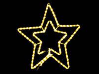 Световое украшение DELUX мотив STAR, фото 1