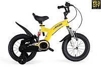 "Велосипед желтый RoyalBaby Flybear 18"", фото 1"