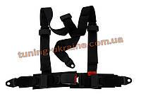 Ремень безопасности 3-х точечный Monza универсальный BLACK E4