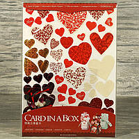 Оригинальный набор скрапбукинга для изготовления 3-х подарочных открыток 3322414-2 (8509) 30*21,5 см