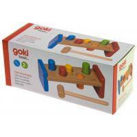 Развивающая игрушка Goki Молоток и скамейка (58581)