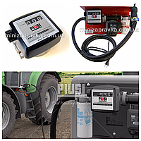 Механический счетчик К33 (20-120л/мин) , PIUSI для ДТ
