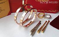 Брендовые браслеты Cartier