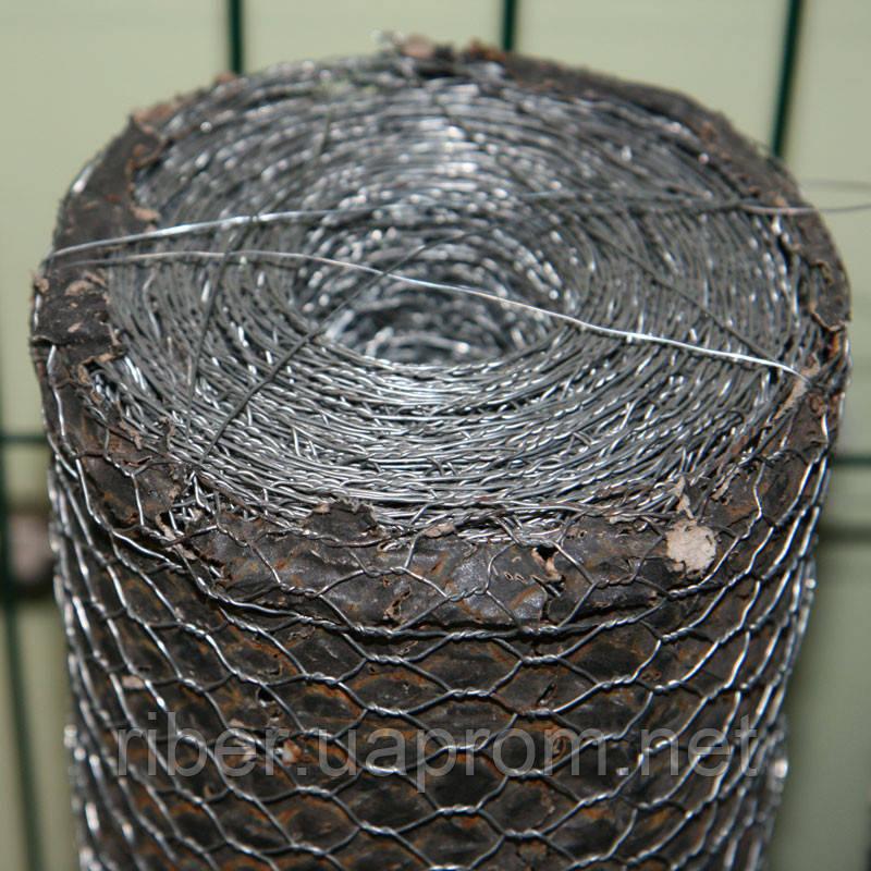 Сетка манье оцинкованная 25*25*0.6 мм