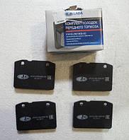 Колодки тормозные ВАЗ 2101-2107 передние (к-т) (пр-во АвтоВАЗ)