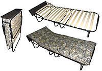 Раскладная кровать ЕВРО с полочкой и подголовником