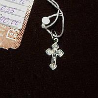 Срібний хрест підвісок