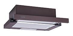 Вытяжка кухонная телескопическая коричневая 50 см VENTOLUX GARDA 50 BR (450)