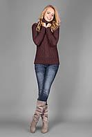 Молодежный свитер мокко