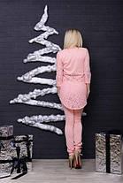 Костюм  женский туника и штаны персик, фото 3